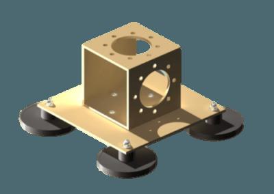 (1Y11650) UM009 NATO VERTICAL HORIZONTAL MAGNETIC MOUNT