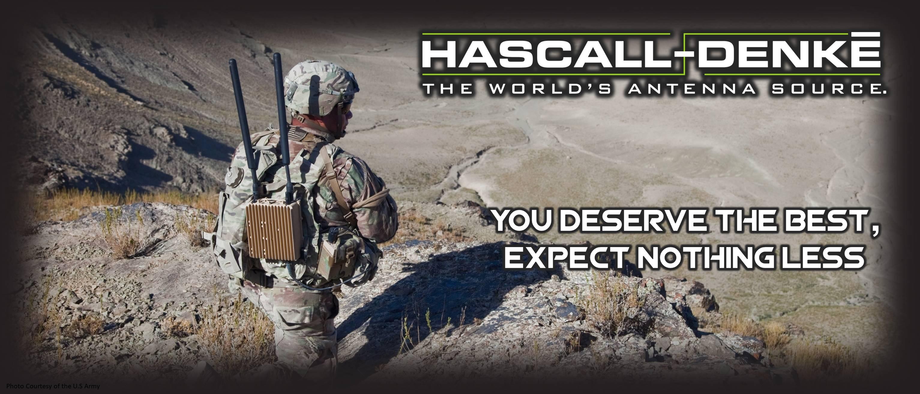 USA Military Antennas Manufacturer | HF VHF UHF L S C | Hascall-Denke